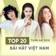 Nghe nhạc hay Top 20 Bài Hát Việt Nam Tuần 44/2018 nhanh nhất