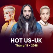 Tải nhạc Mp3 Nhạc Âu Mỹ Hot Tháng 11/2018 nhanh nhất