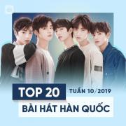 Tải bài hát Mp3 Top 20 Bài Hát Hàn Quốc Tuần 10/2019 hay online